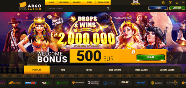 Win up to 2,000,000 EUR in daily drops promotion!
