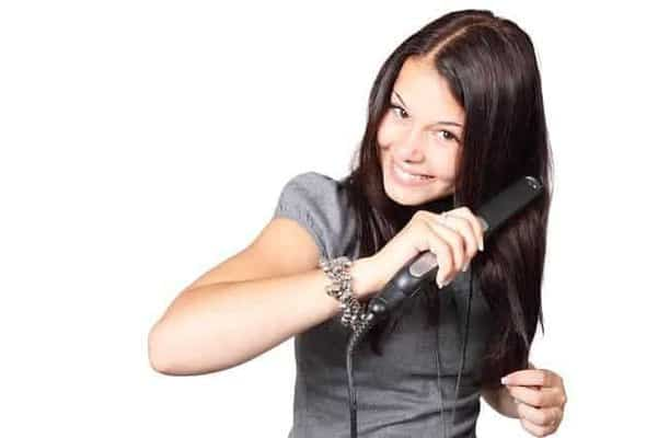 best way to curl your hair with a hair straightener