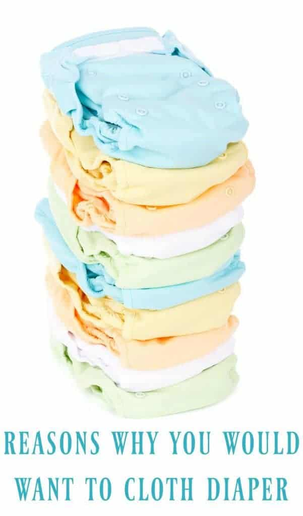 Why would anyone want to choose cloth diapers when we live in a day and age where we can just buy new diapers? Believe it or not there are quite a few Reasons to Choose Cloth Diapers! #clothdiapers #diapers #babies #infant #ecofriendly #zerowaste