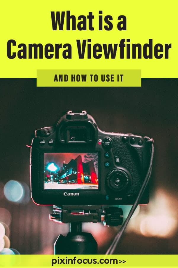what is a viewfinder Pinterest pin