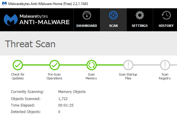 anti-malware-dashboard