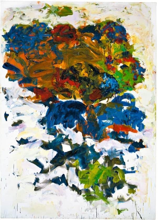 Joan Mitchell  brushstroke