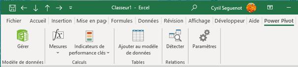 Power Pivot dans Excel