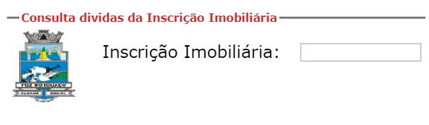 Consulta IPTU Foz do Iguaçu PR