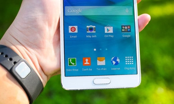 Galaxy Note 4 won't install system update, stuck in boot