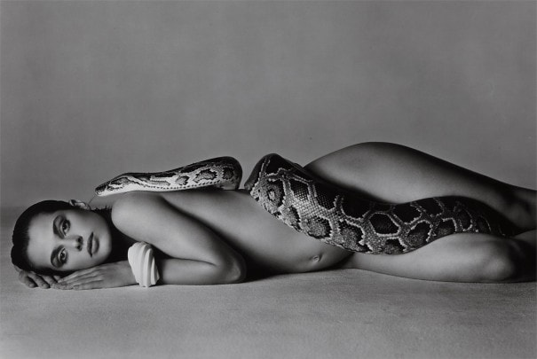 Nastassja Kinski and the Serpent by Richard Avedon