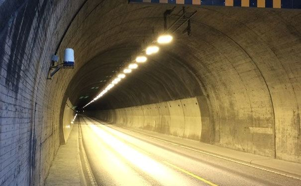 Automatic incident detection installed in two subsea road tunnels in Norway