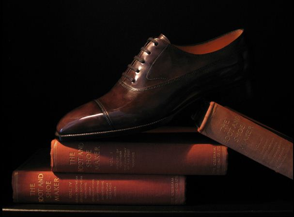 Teal. Victorian calf (museum calf), antique brown.