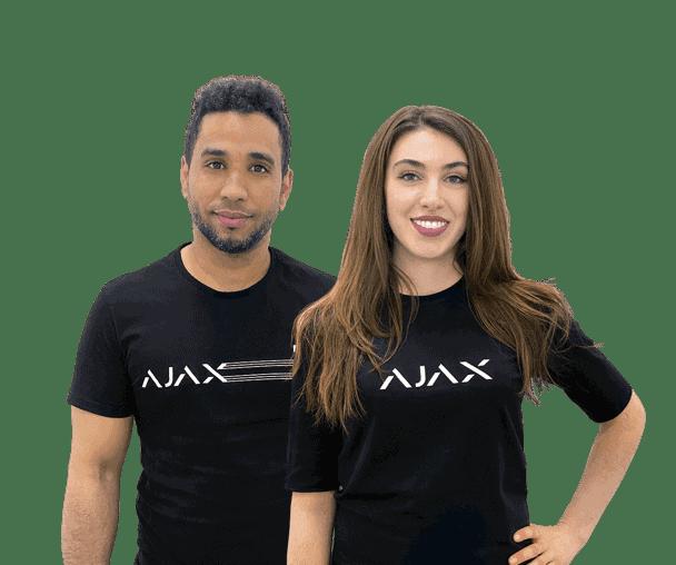 ajax alarmsysteem ondersteuning