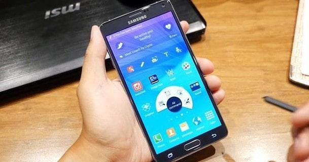 Keyboard swipe option not working in Note 4 Samsung Internet