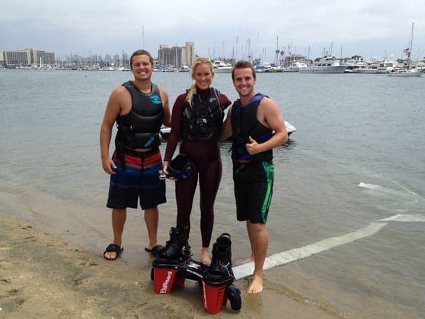 Bethany Hamilton Flyboarding Aquatic Aviation