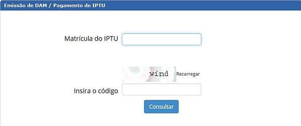 IPTU Manaus - AM Consulta