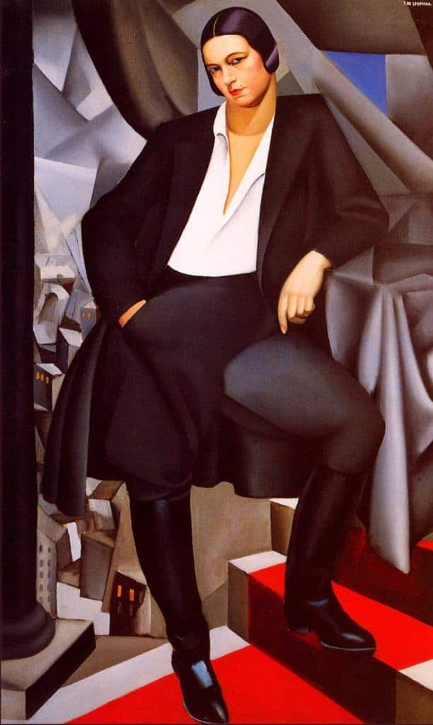 Portrait of Duchesse de la Salle by Tamara de Lempicka