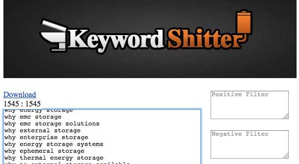 keyword-shitter