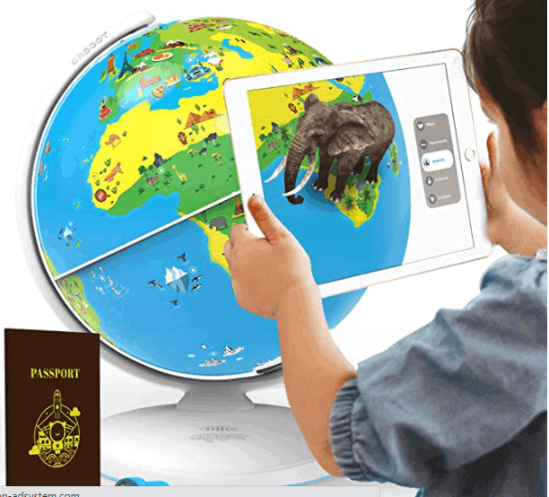 Globe learning device toy for kids