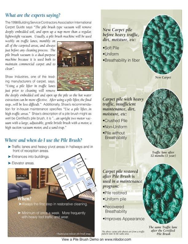 pile brush benefits