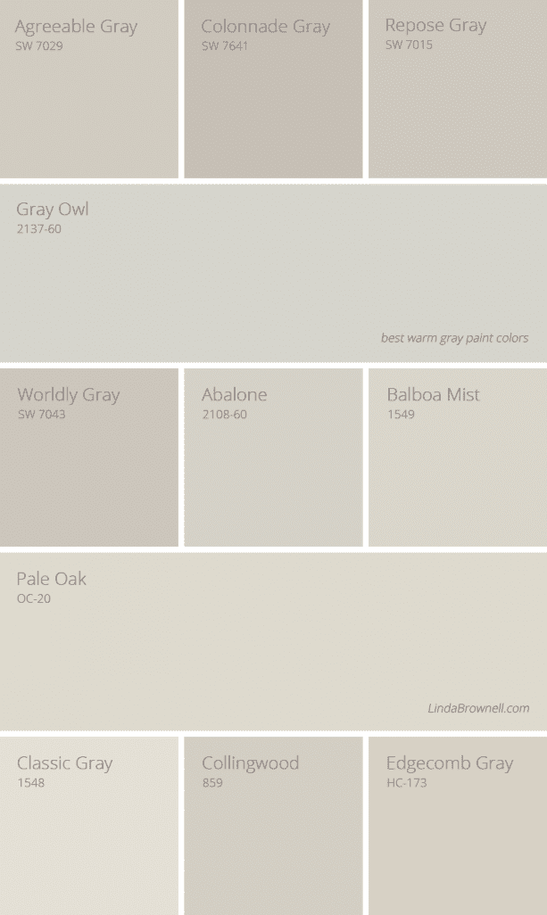11 greatest best warm gray paint colors