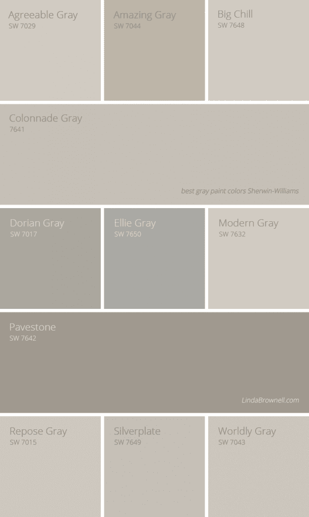 11 most amazing best gray paint colors Sherwin Williams