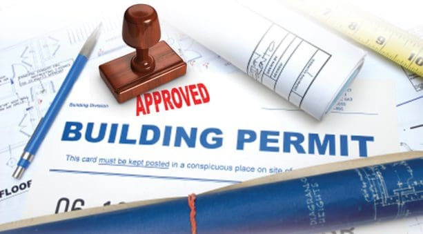 getting a building permit from the local building codes office