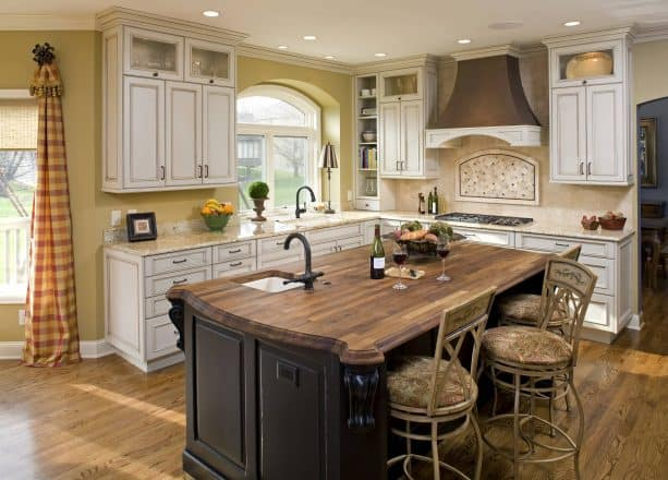 17 Best Antique White Cabinets Combinations For Most Fascinating Looks In Your Kitchen Interior Jimenezphoto