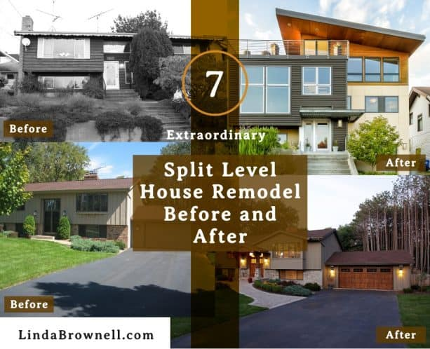 7 Split Level House Remodel Before and After