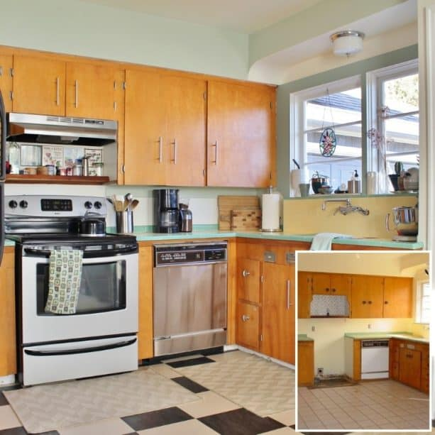 a project to base your cheery raised ranch kitchen remodel on (with before and after photos)