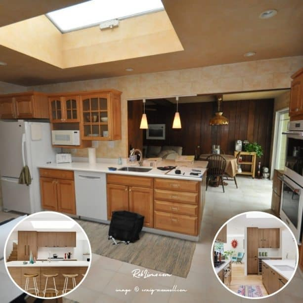 remodeling a ranch kitchen into a very modern space (with before and after photos)