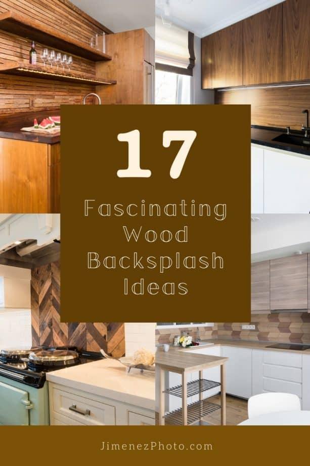 Wood Backsplash Ideas