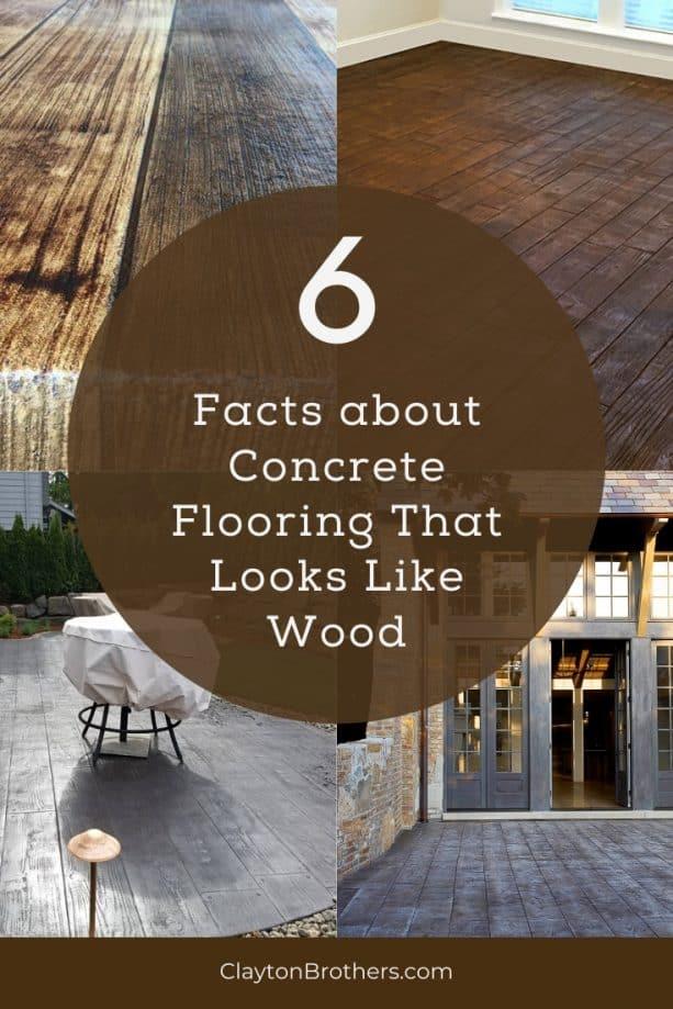 Concrete Flooring That Looks Like Wood