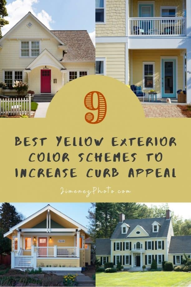 Yellow Exterior Color Schemes