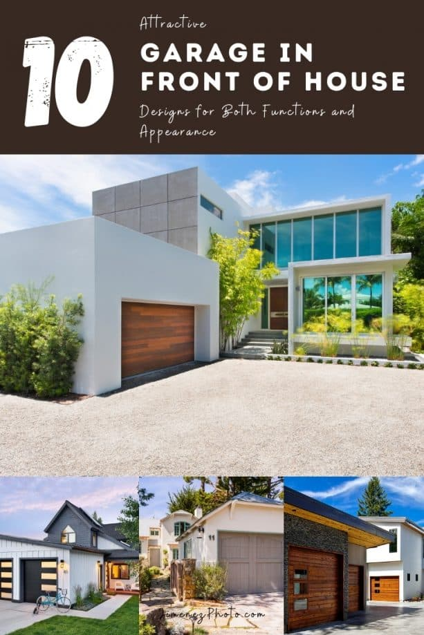 10 Attractive Garage in front of House Designs for Both Functions and Appearance