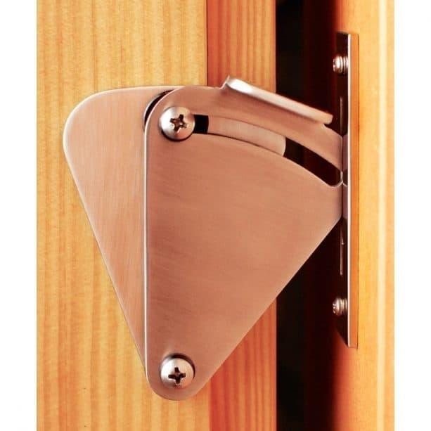 a special metal lock for sliding barn door