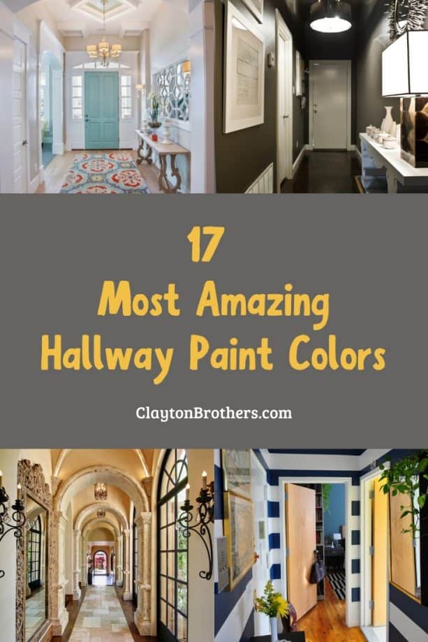 Hallway Paint Colors