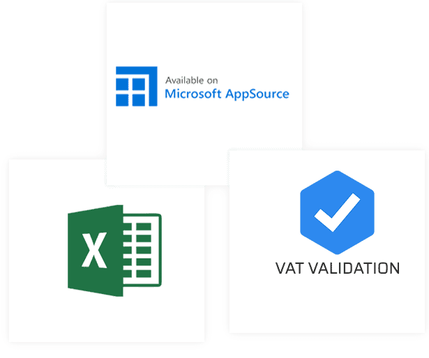 VAT Validation by Sanocast is available on Microsoft AppSource - Easy vat number check in Excel
