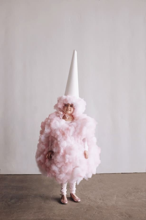 Cotton Candy - Cute Kids Halloween Costumes! Over 25 of the Best DIY Halloween Ideas to inspire you on Trick or Treat night!