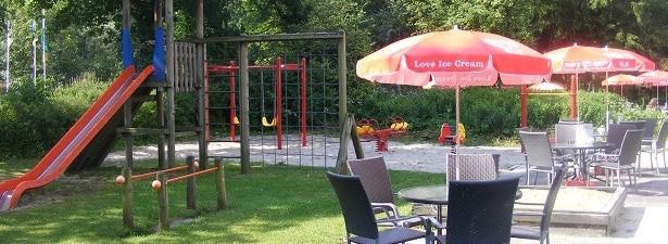 Eetcafe De Hoeve speeltuin-terras