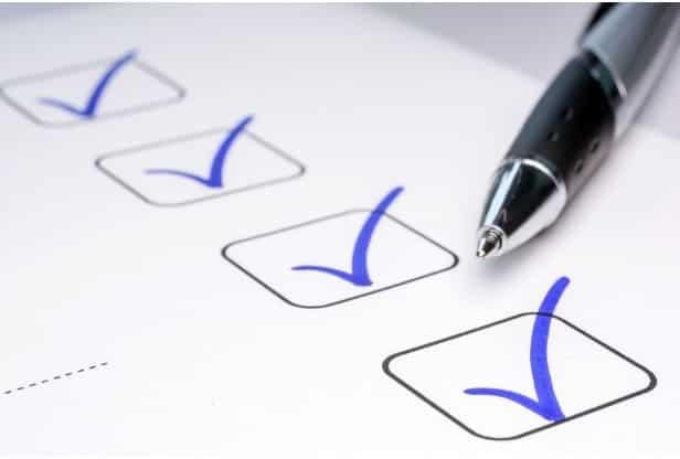 Free Organizing Project Checklist