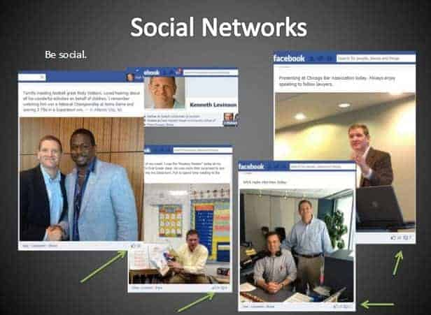 Professional Networking Online, Same as Offline 1