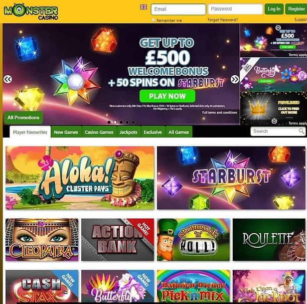 Monster Casino Online