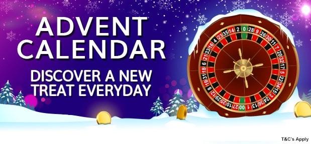 Advent Casino Calendar Free Spins and No Deposit Bonuses