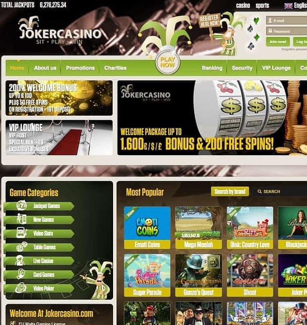 JokerCasino.com Review