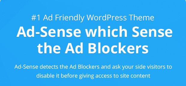 Ad-Sense Premium WordPress Theme