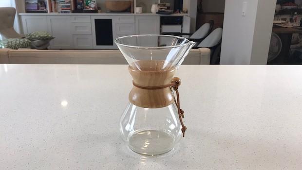 Chemex coffee brewer