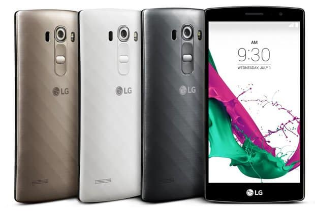 LG announces the G4 Beat: Snapdragon 615, 5.2-inch 1080p display