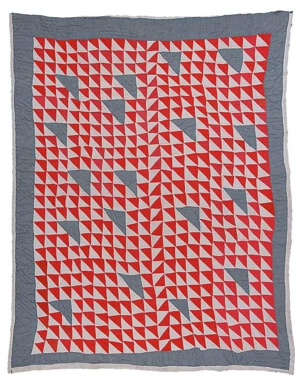 Annie Bendolph - Thousand Pyramids (variation) - 1930