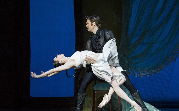 Natalia Osipova and Matthew Golding in John Cranko's Onegin (photo: Alastair Muir)