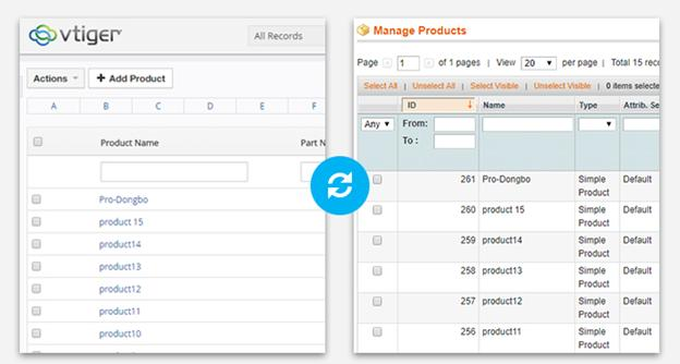 New released item: Magento Vtiger syncing extension on Cmsmart
