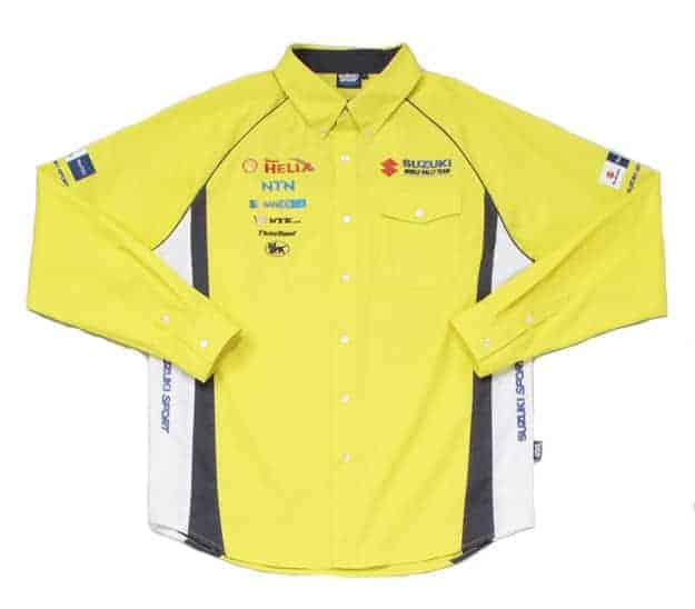 RACE SHIRT Challenge Suzuki Sport World Rally Team Motorsport