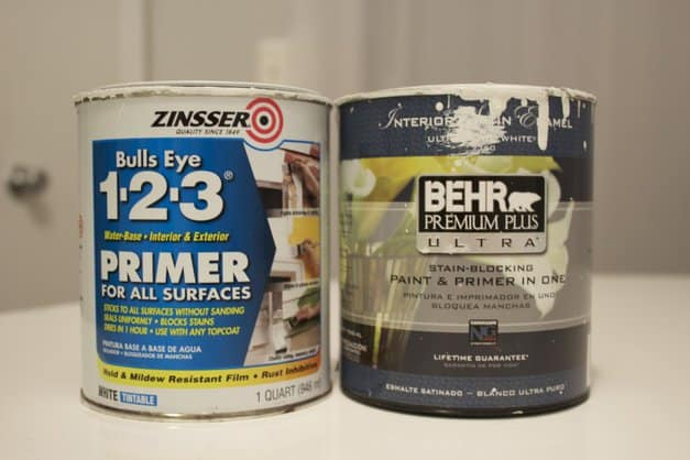 Best primer and paint for brick fireplaces and wood built-ins.