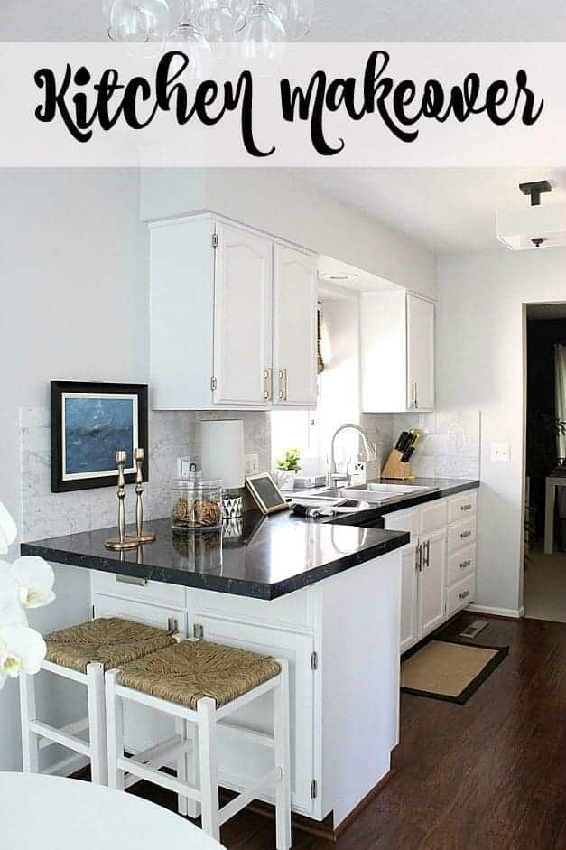 kitchen makeover black and white traditional kitchen the striped house